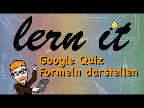 G#12 Google Classroom: Quiz erstellen (Formeln einfügen) - Google Workspace